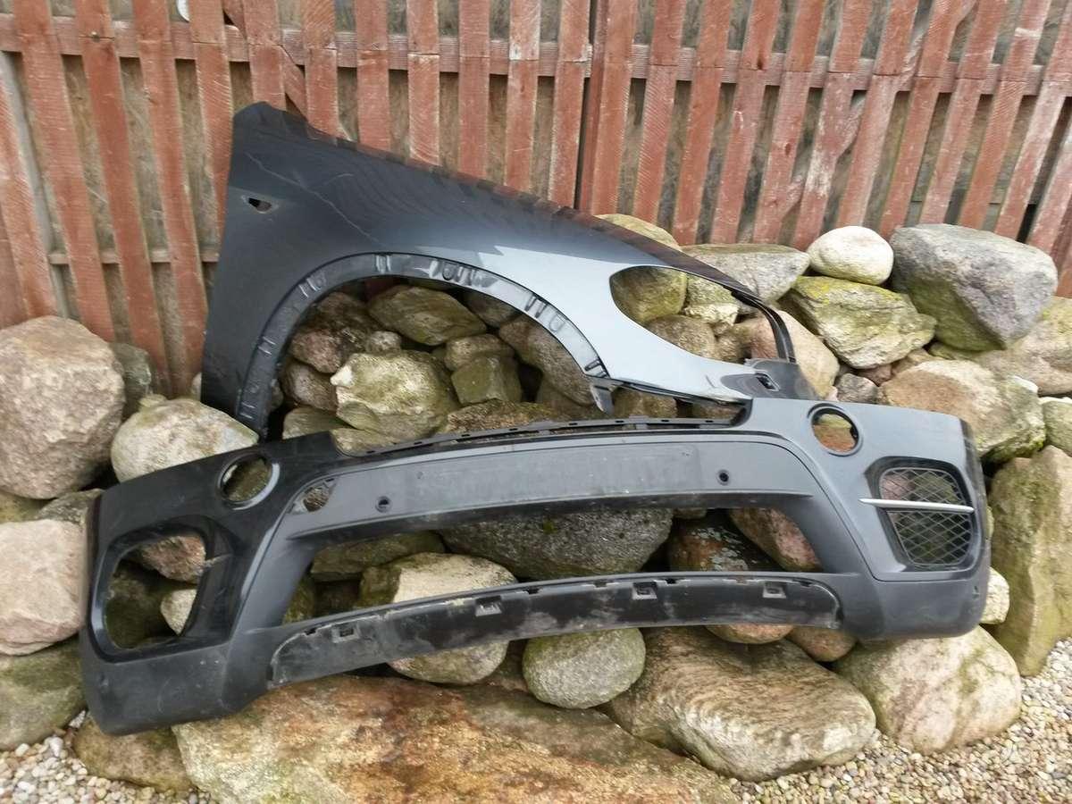 BMW X5. Sparnai,pr.panelė, pr.kapotas su grotelėm, priekiniai ž