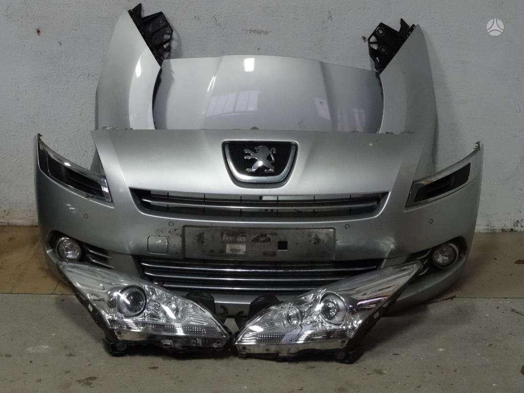 Peugeot 5008. Zibintai yra paprasti,yra su led ir yra xenon ir