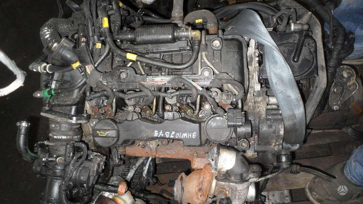 Peugeot Partner. Dalys nuo variklio. variklio kodas 9hw.yra ir
