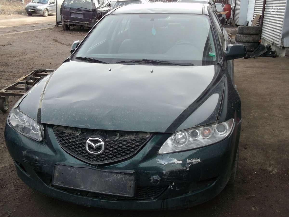 Mazda 6. Mazda 6 04m. 2.0d,,dalimis,,varyklis po kapitalinio