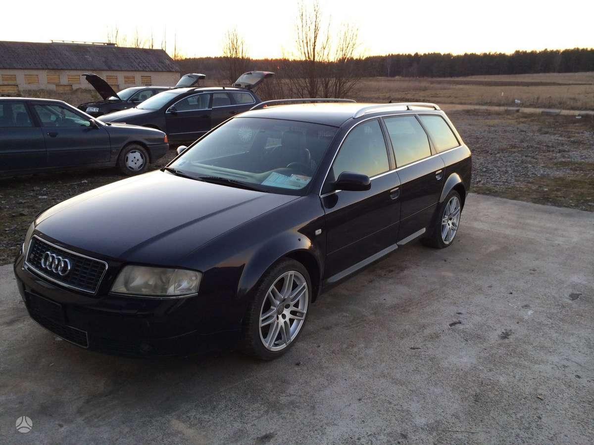 Audi S6 dalimis. Audi s6 europinis automobilis, 4.2l, 250 kw, maž