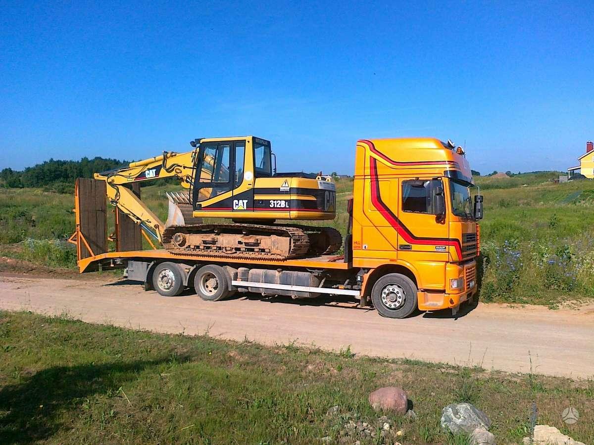 DAF Tralo nuoma iki 15tonu, sunkvežimių nuoma