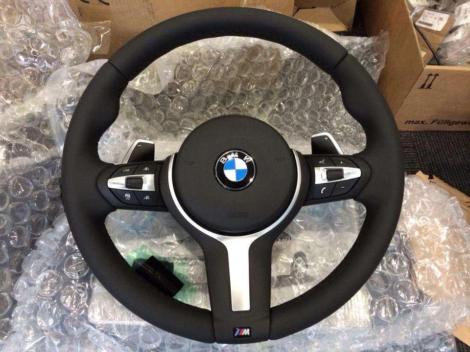 BMW 1 serija. Yra tik nbt navigacijos komplektas ir vairas 400 (