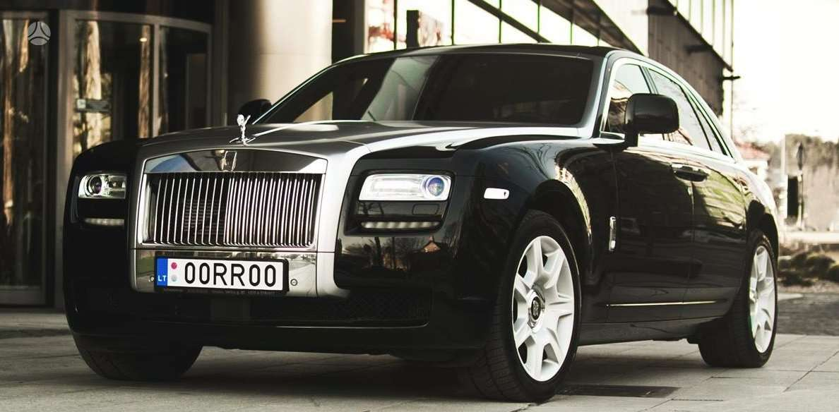 Rolls-Royce Ghost, 6.6 l., limuzinas