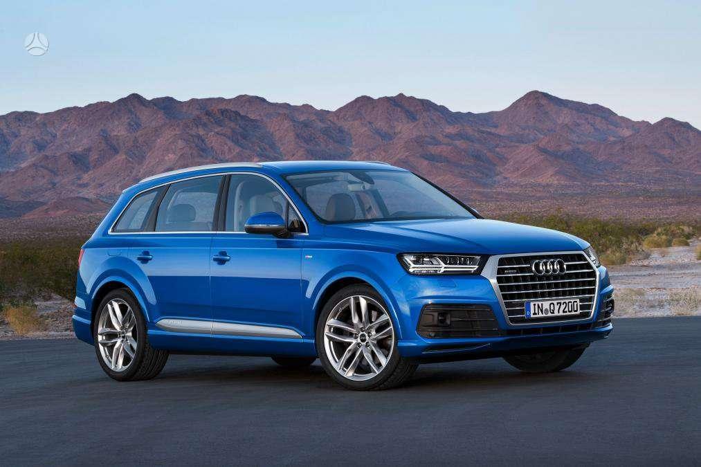 Audi Q7. Naujų orginalių detalių užsakymas prieinamiausiomis