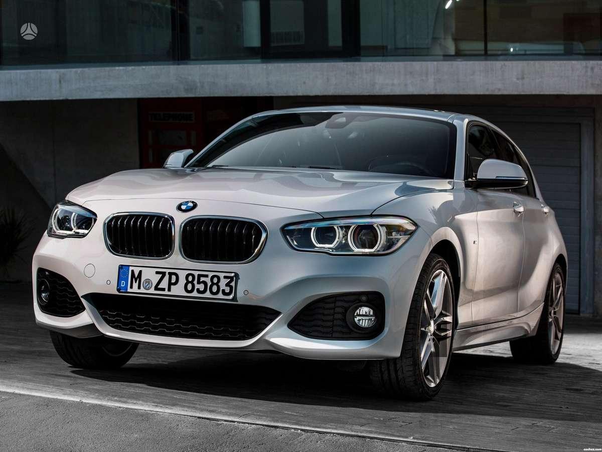 BMW 1 serija. Naujų orginalių detalių užsakymas