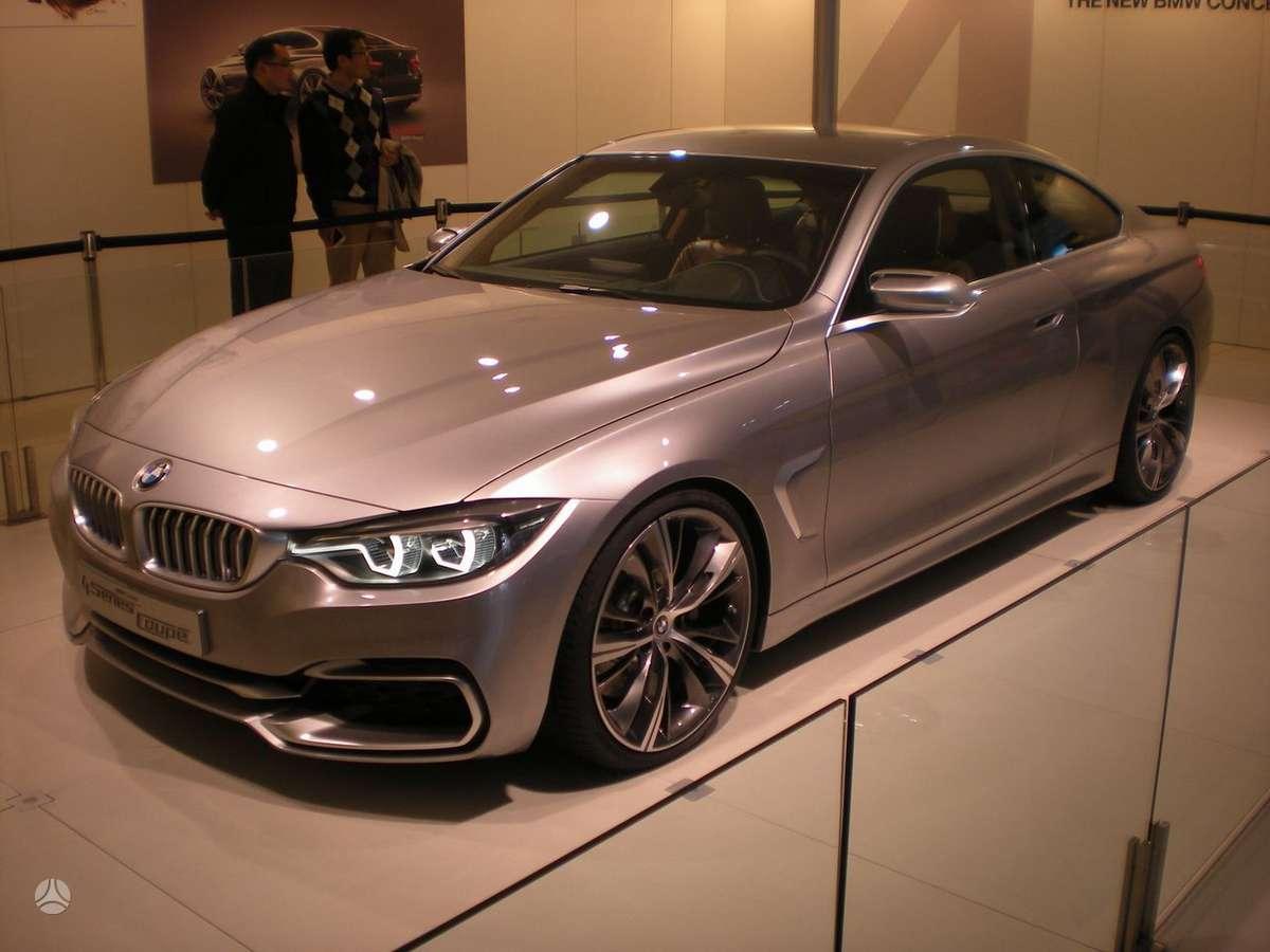 BMW 4 serija. Naujų orginalių detalių užsakymas