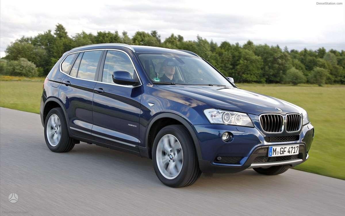 BMW X3. Naujų orginalių detalių užsakymas prieinamiausiomis