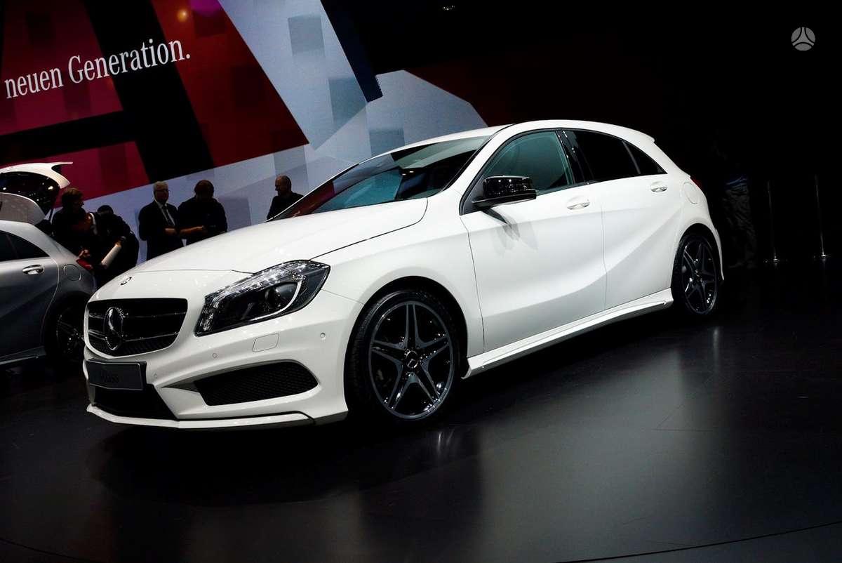 Mercedes-Benz A klasė. Naujų orginalių detalių užsakymas