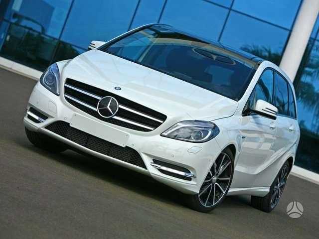 Mercedes-Benz B klasė. Naujų orginalių detalių užsakymas