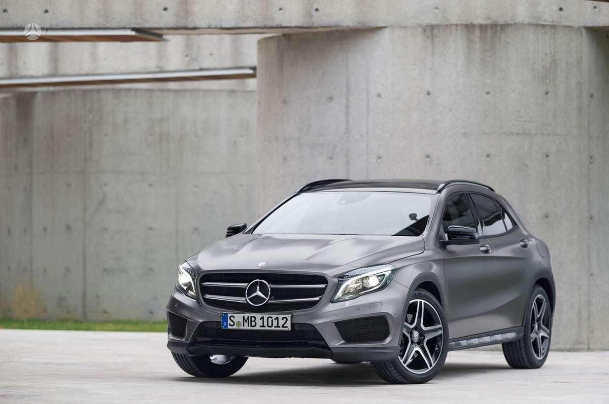 Mercedes-Benz GLA klasė. Naujų orginalių detalių užsakymas