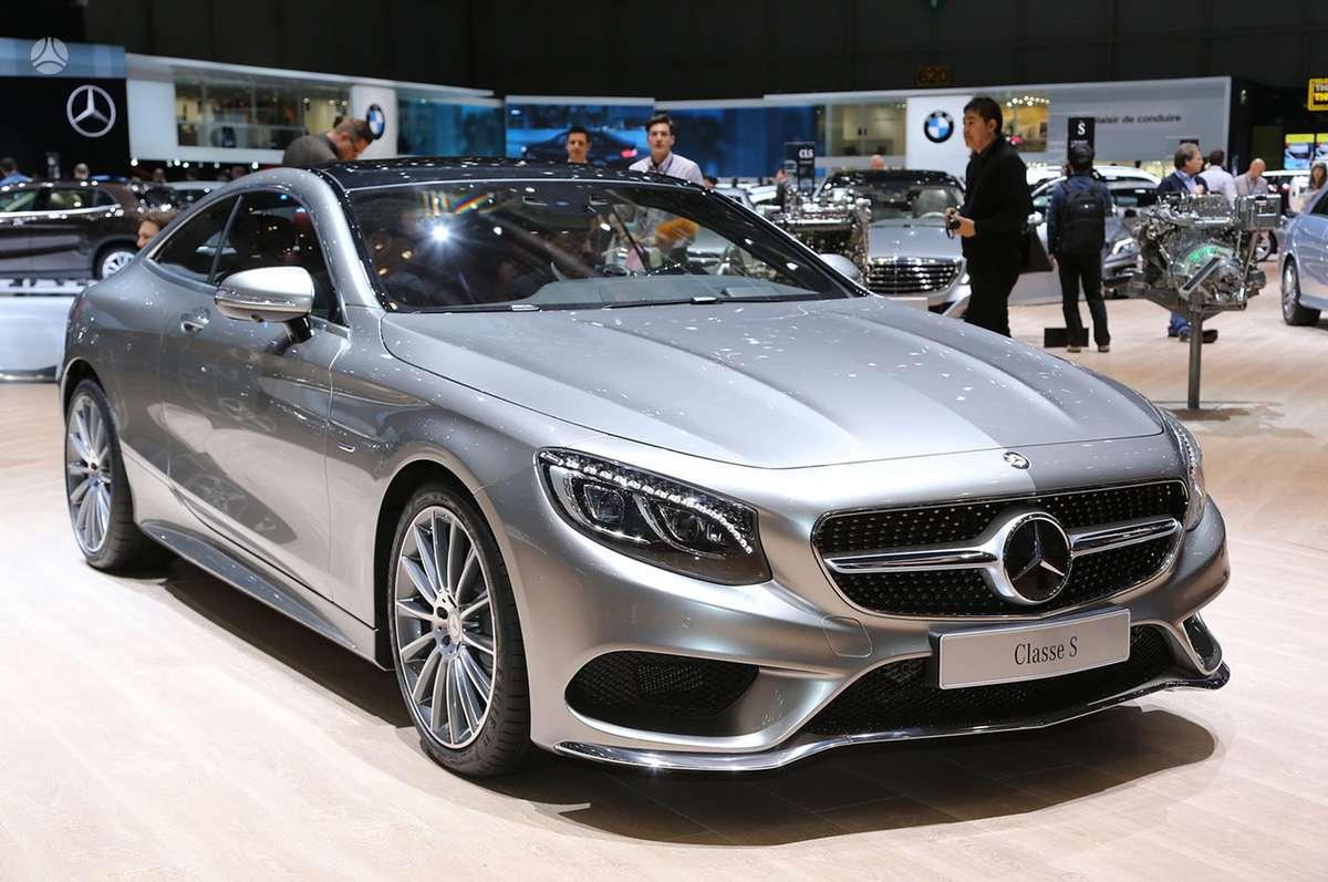 Mercedes-Benz S klasė. Naujų orginalių detalių užsakymas