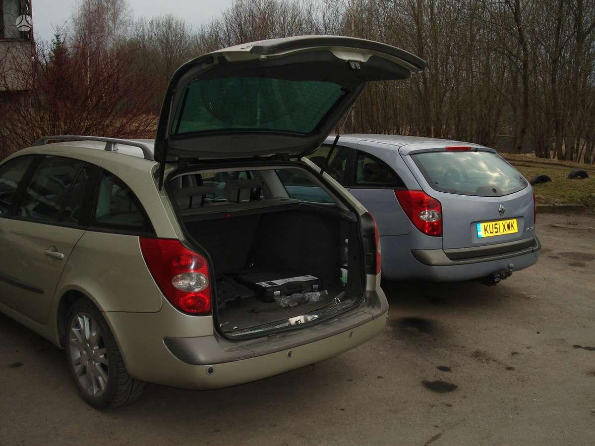 Renault Laguna. Renault laguna 2 nuo 2001 iki 2005 m dalymis , 1.