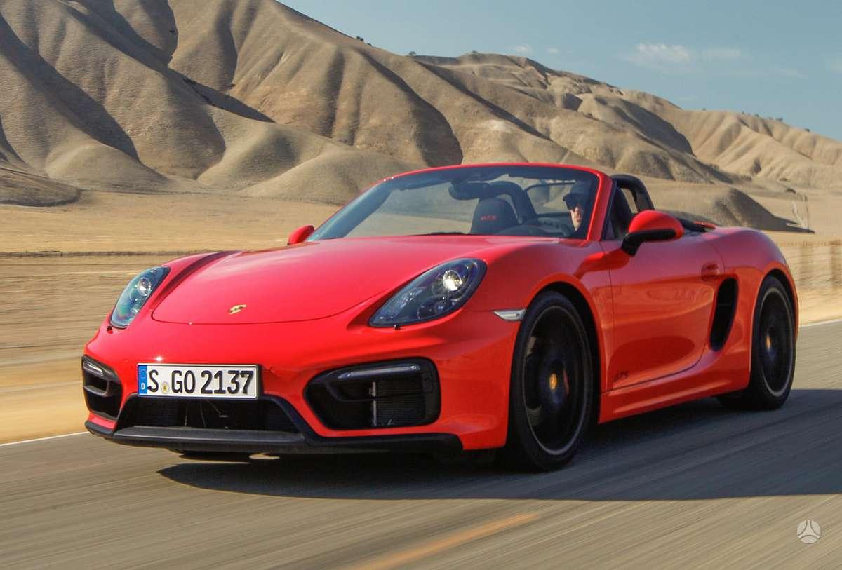 Porsche Boxster. Naujų orginalių detalių užsakymas