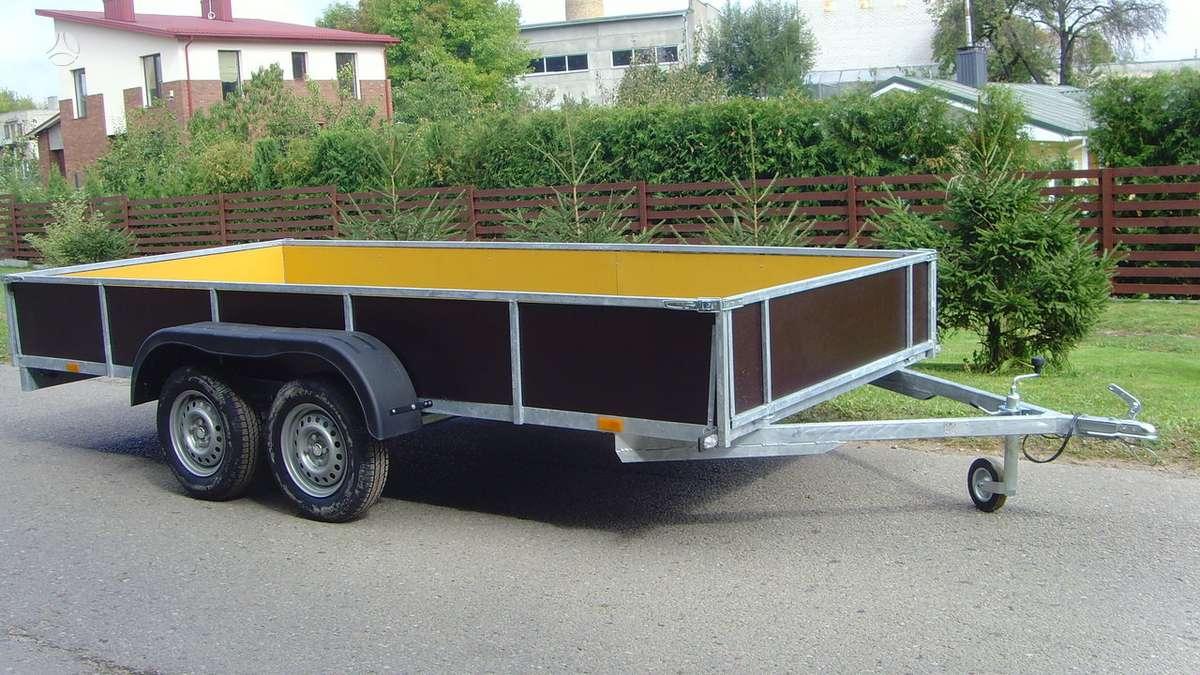 Baltic trailer B2K-4000x2, lengvųjų automobilių priekabos