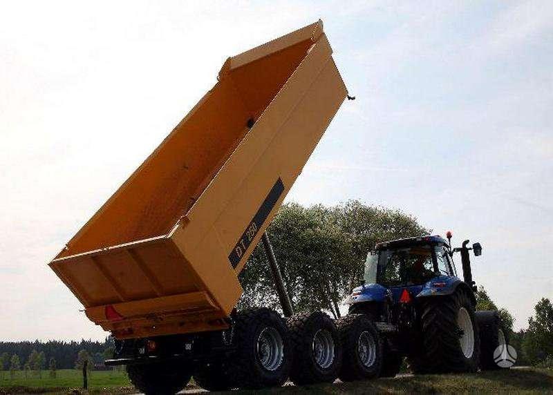 UGB Universalios puspriekabės, traktorinės priekabos