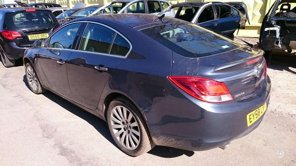 Opel Insignia. Anglas dalimis tel. +370-699-83495, +37068512812