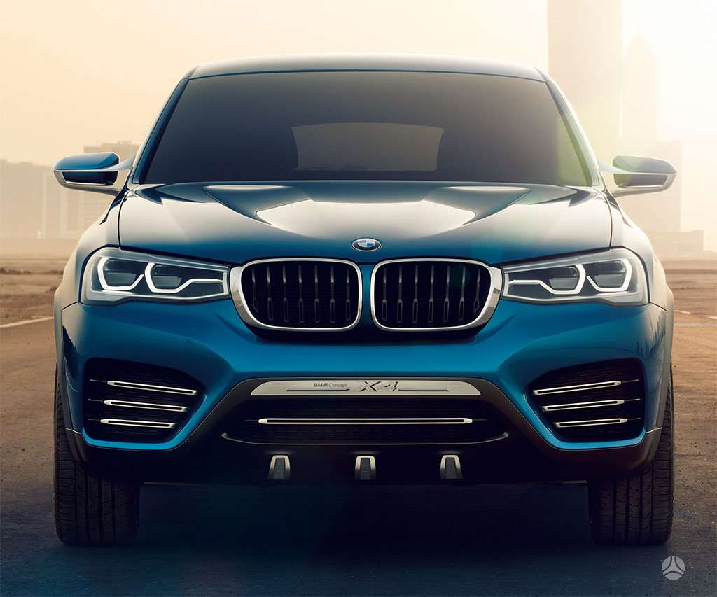 BMW X4. Naujų originalių automobilių detalių užsakymai