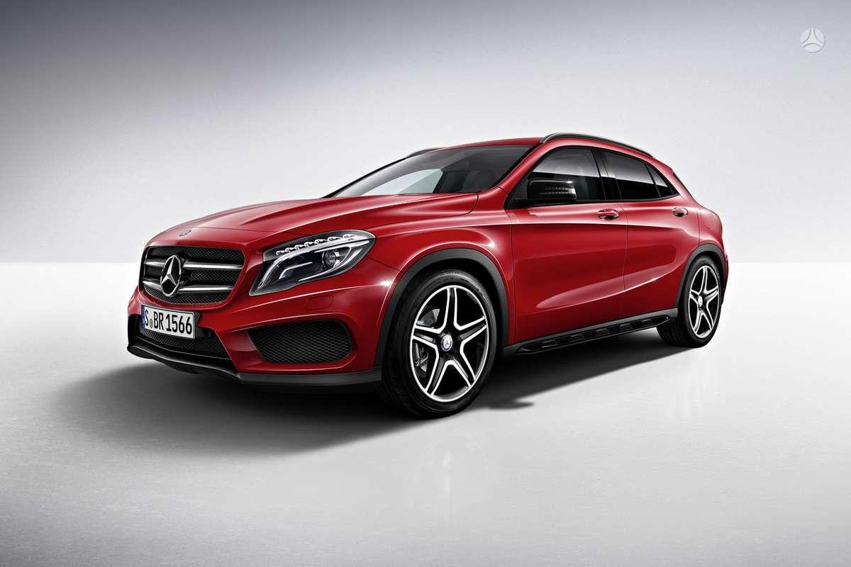 Mercedes-Benz GLA klasė. Naujų originalių automobilių detalių už