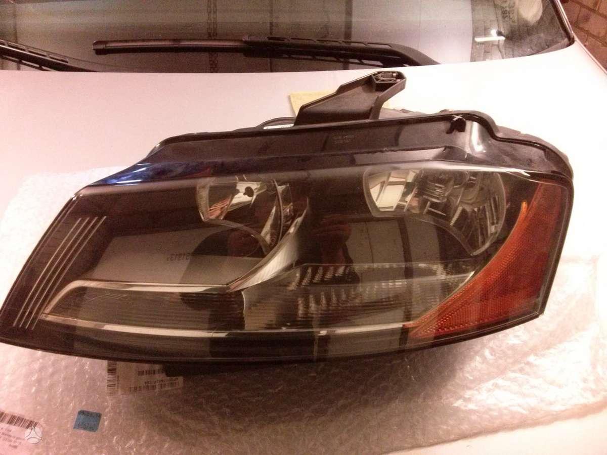 Audi A3. Tik nurodytos dalys  ... galiniai stopai-kampai rf