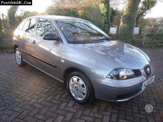 Seat Ibiza. 1.2 benzinas - 16 valve   2003 m.   1.4 benzinas