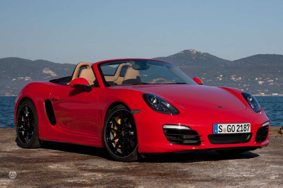 Porsche Boxster dalimis. !!!! tik naujos originalios dalys !!!!