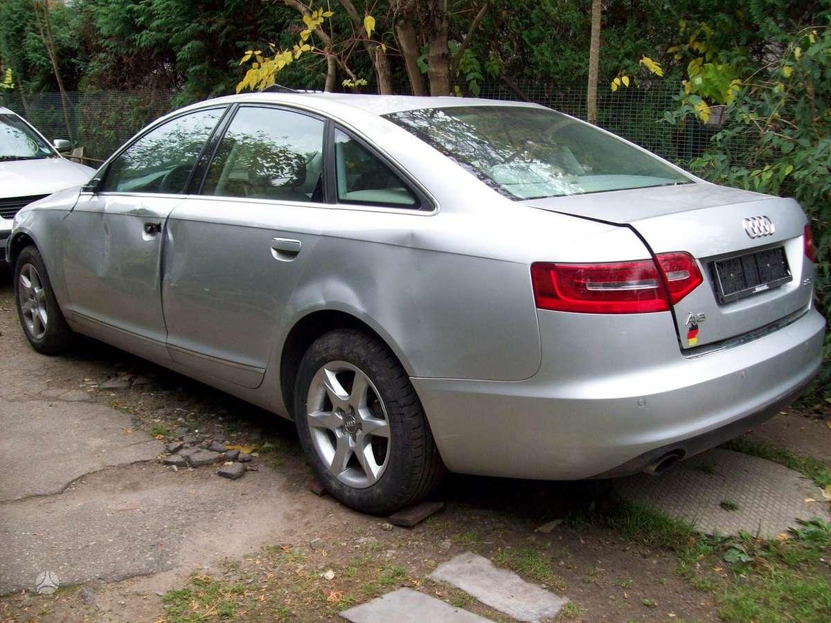 Audi A6 dalimis. Audi a6 (c6), 2009 m., 2.0tfsi, 125kw,