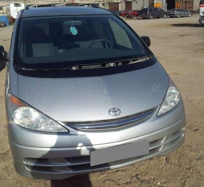 Toyota Previa. 2.0d4d 85kw, europa, pilnas salonas 7 sedyniu,