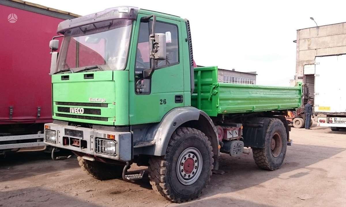 Iveco ML 135 E 4x4, savivarčiai