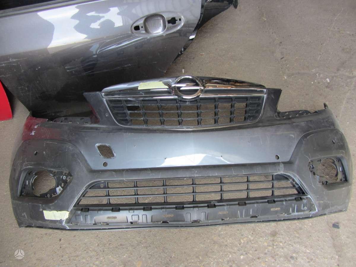 Opel Mokka. Prekyba auto dalimis naudotomis europietiškiems,