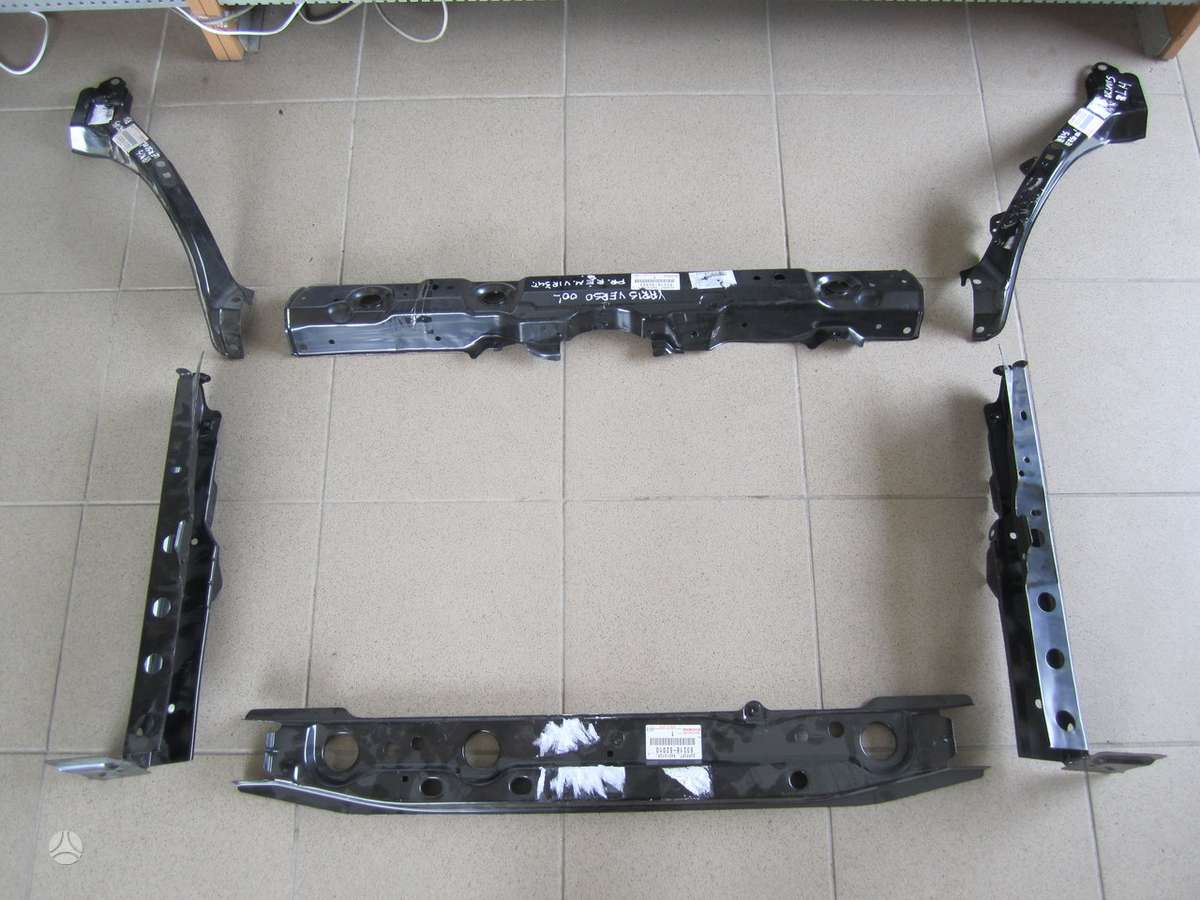Toyota Yaris Verso. Naudotos ir naujos japoniškų ir korėjietiškų