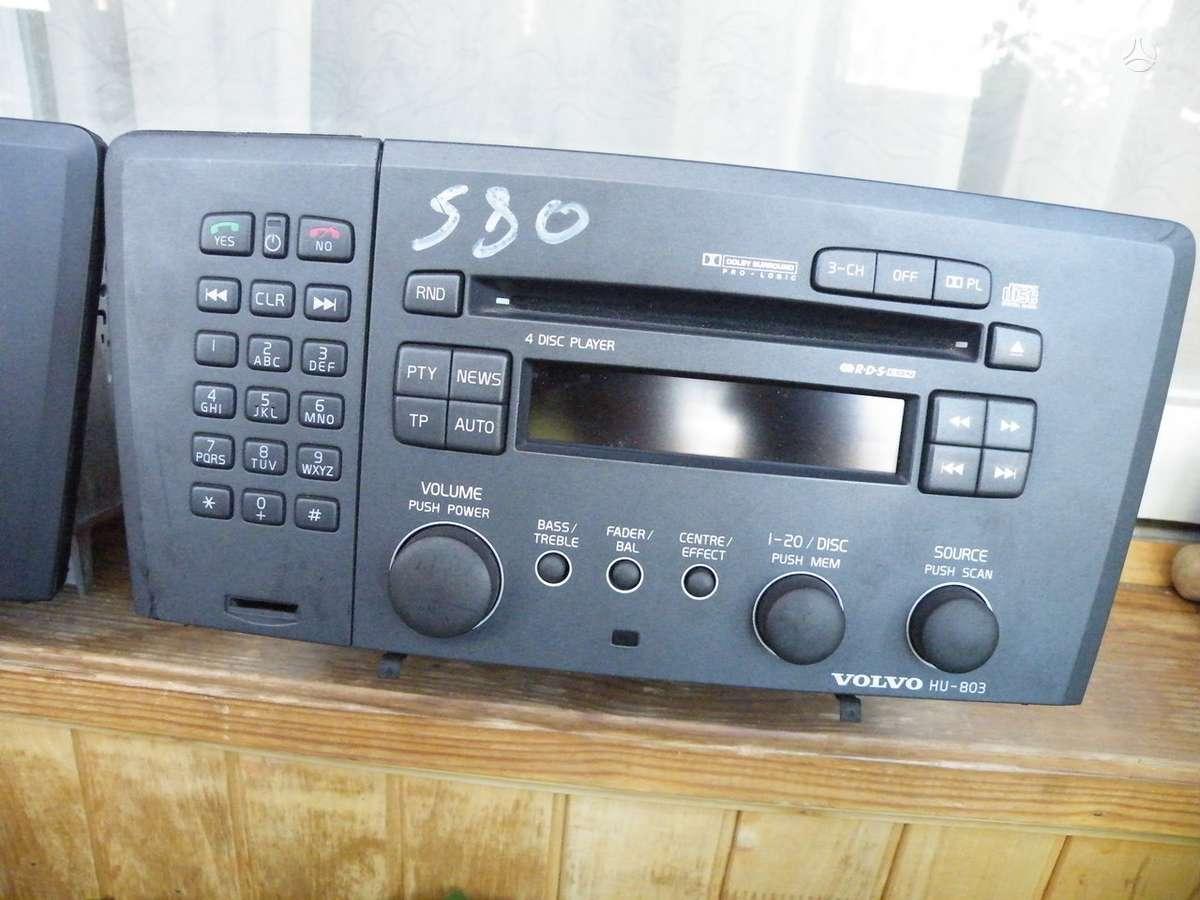 -Kita- Volvo, cd grotuvai