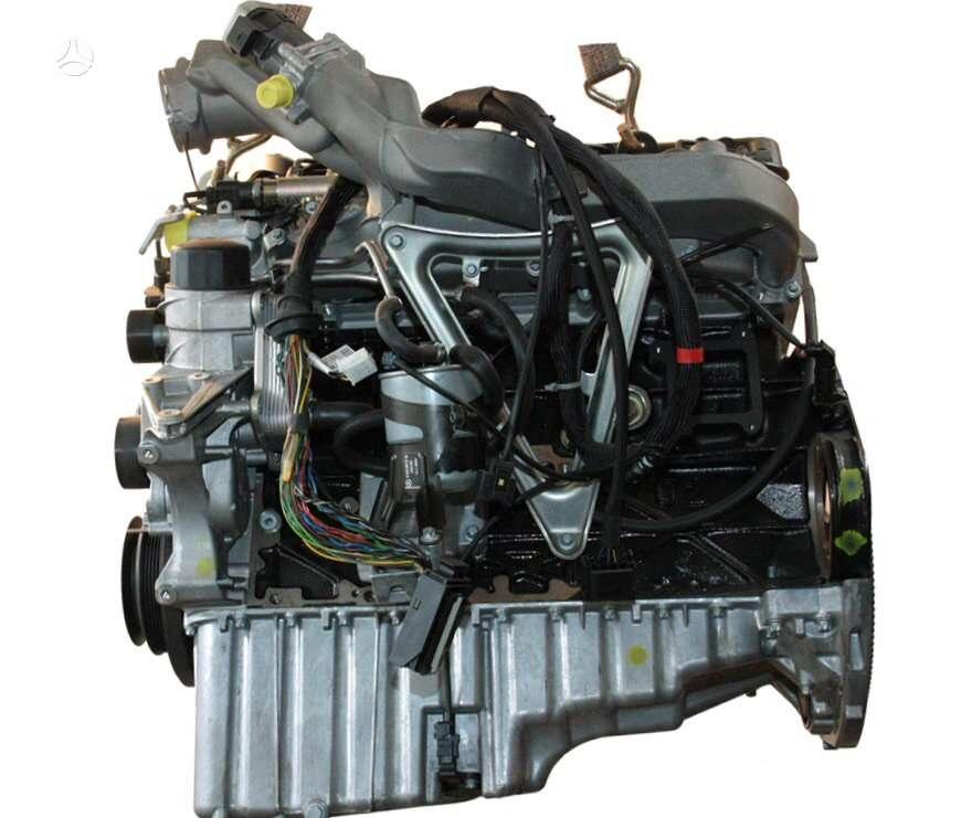 Mercedes-Benz Sprinter. Naujas variklis turbo garrett 736088-1