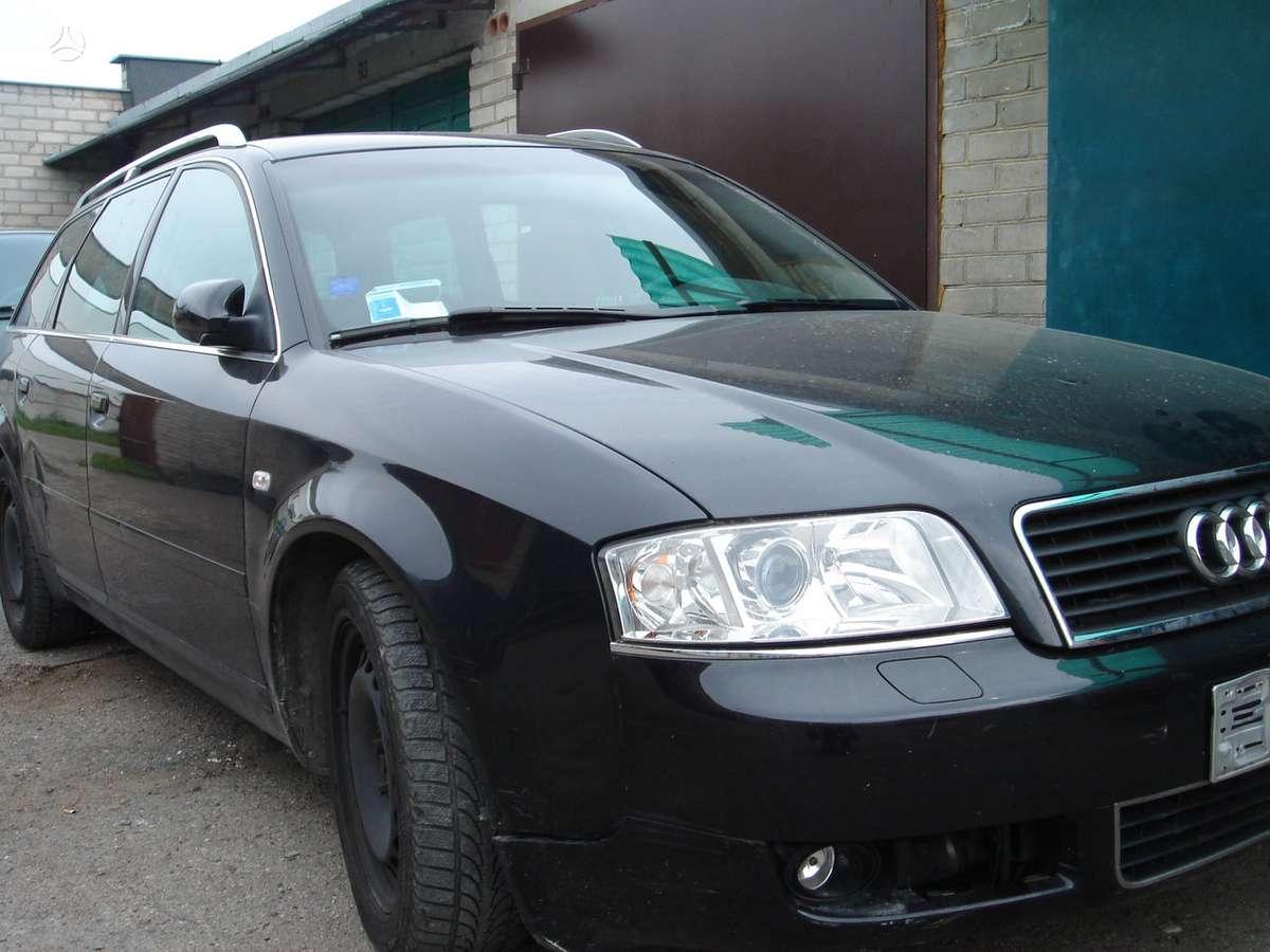 Audi A6 dalimis.  auto europinis 132,114,120 kw....
