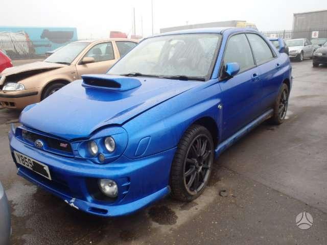 Subaru Impreza  WRX dalimis. Jau lietuvoje!!! 77 000 mylių.