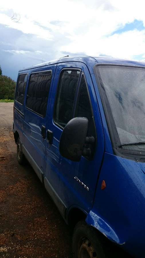 Citroen JUMPER, keleiviniai mikroautobusai