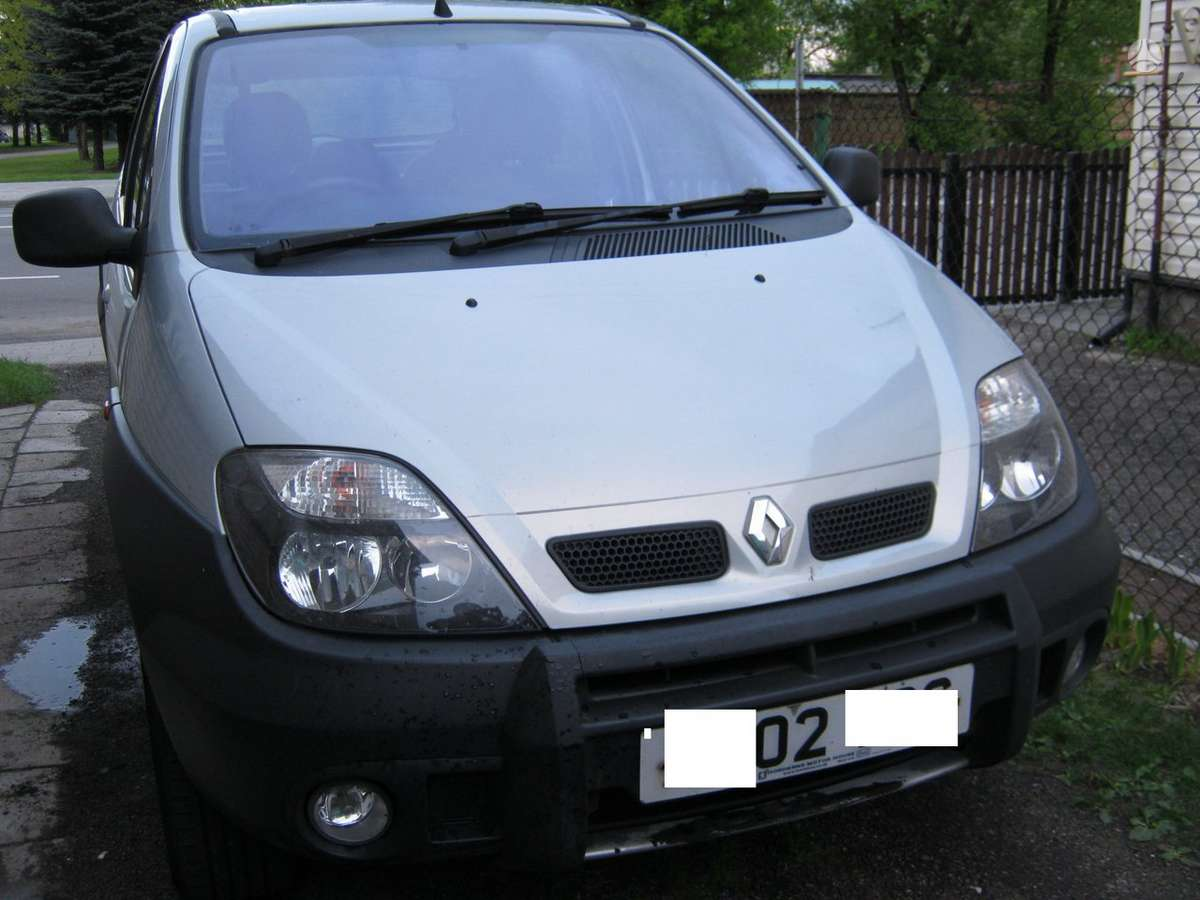 Renault Scenic dalimis. Rx4  r16 ratlankiai.kablys 1.9 dci