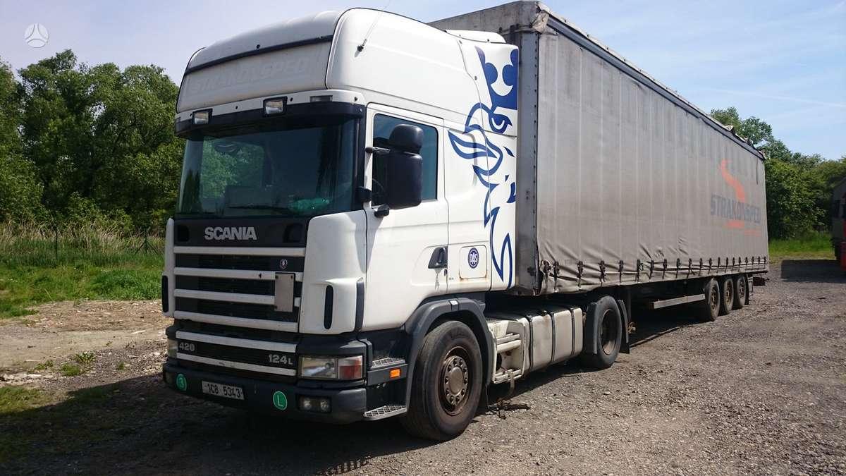 Scania 14-420, vilkikų nuoma