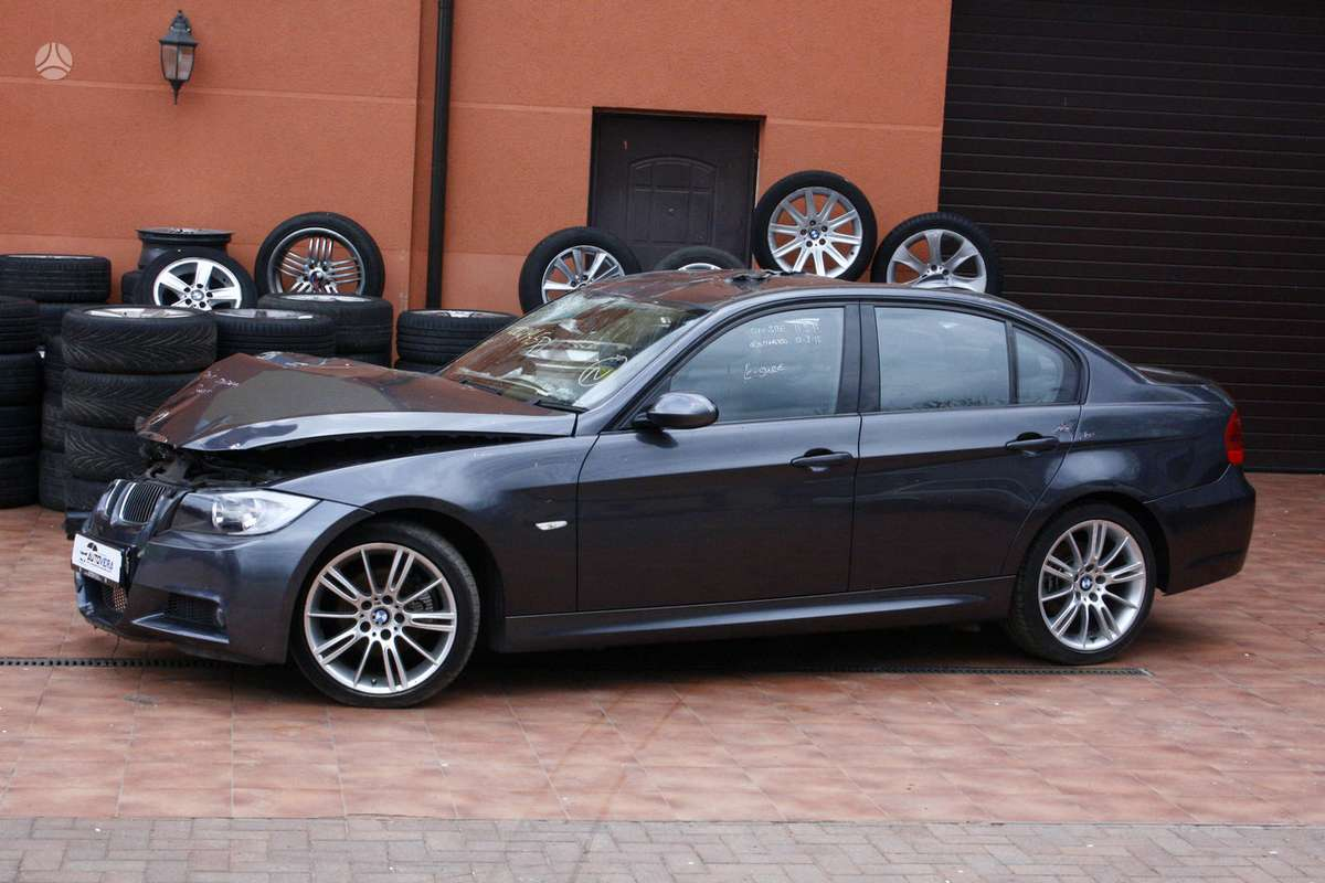 BMW 325 dalimis. Dalimis: bmw e91lci 320d m touring 2010m. bmw