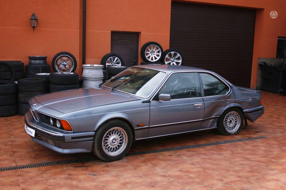 BMW 635 dalimis. Bmw 635csi 1982-1989m. bmw 628csi 1983m. bmw