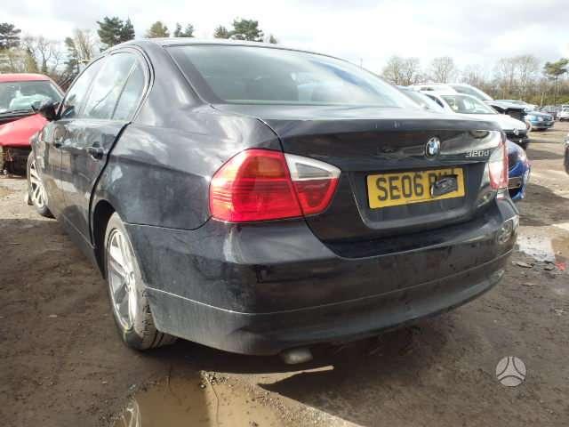 BMW 320. Bmw 320 d  120 kw variklis ,juodas odinis salonas,lieti