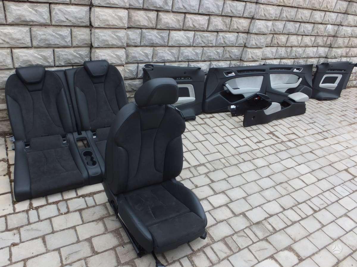 Audi A3. S3 salono dalys, nera vienos sedynes