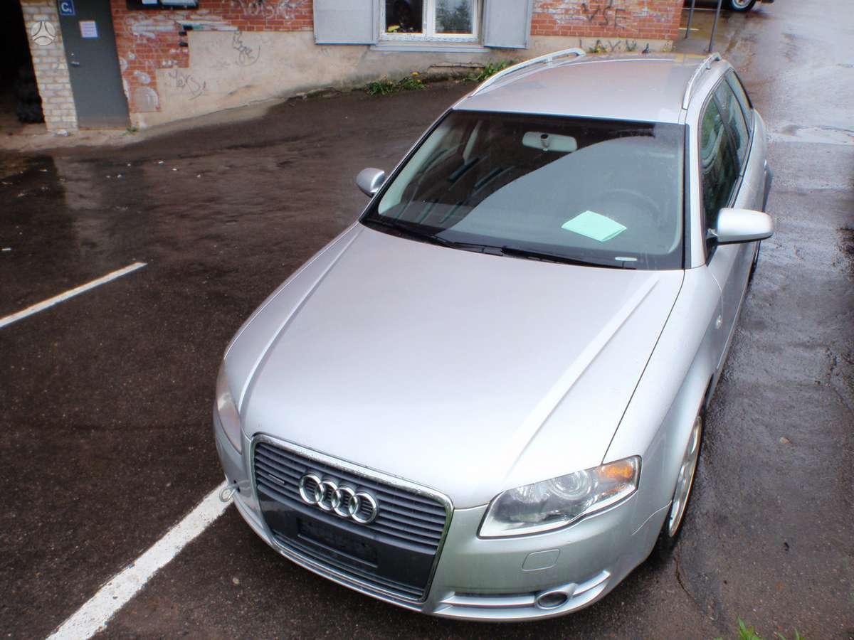 Audi A4 dalimis. 3.2i quattro, navigacija, kodas: variklio auk,