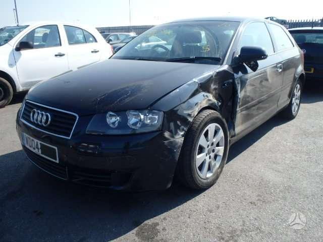 Audi A3. Variklio kodas bkd