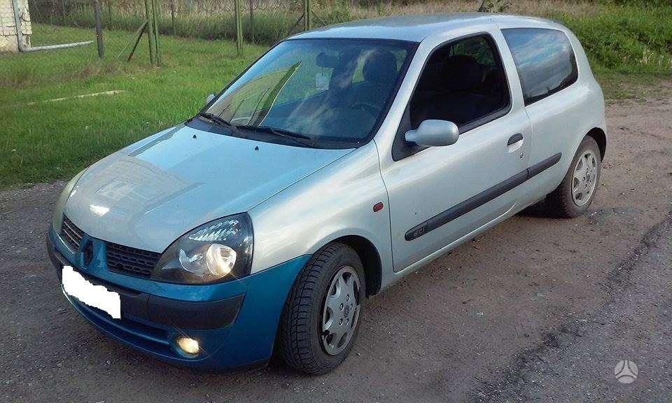 Renault Clio. Europa.keleivinis. detales siunčiu ir į kitus