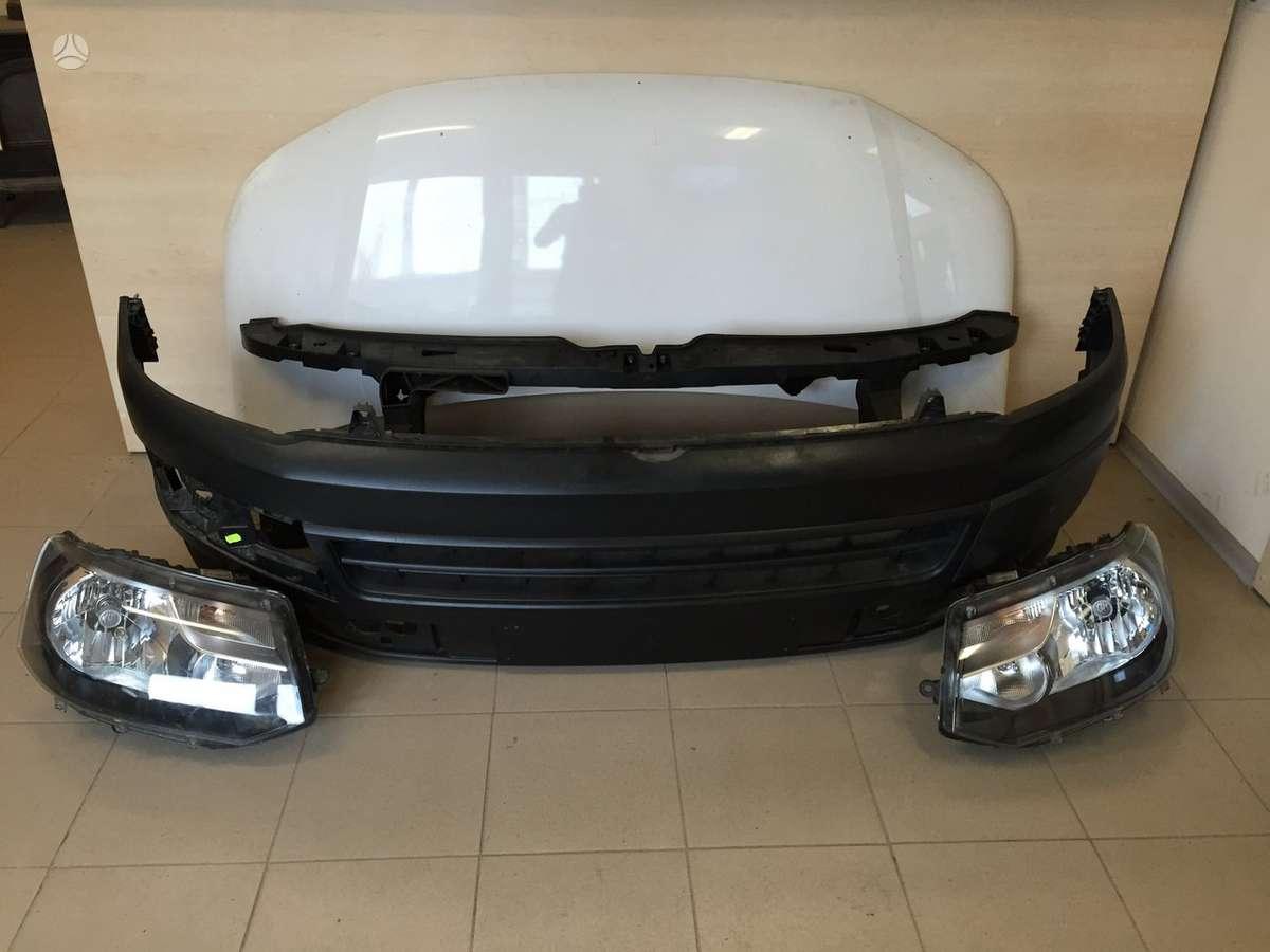Volkswagen Transporter. Kapotas televizorius bamperis ž
