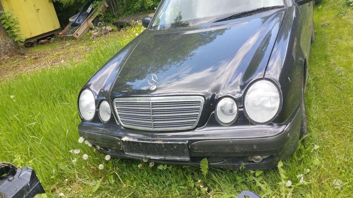 Mercedes-Benz E klasė. Cdi