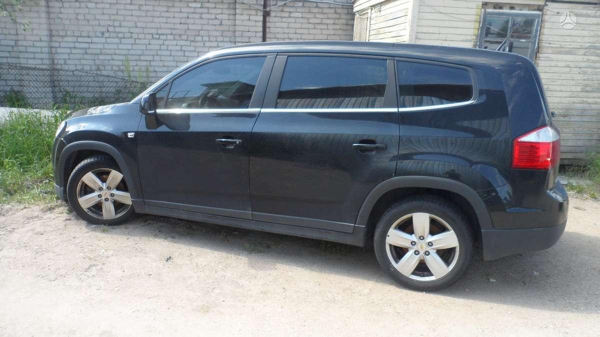 Chevrolet Orlando dalimis