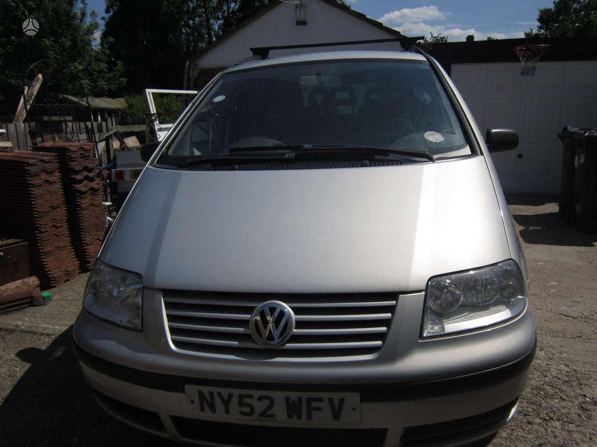 Volkswagen Sharan dalimis. Pristatymas visoje lietuvoje per 1-2