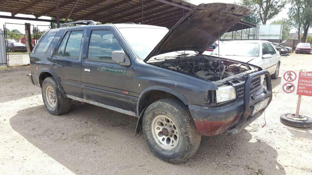 Opel Frontera dalimis. Prekyba originaliomis naudotomis detalė